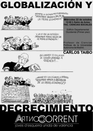 Globalización/Decrecimiento/Acontracorrent